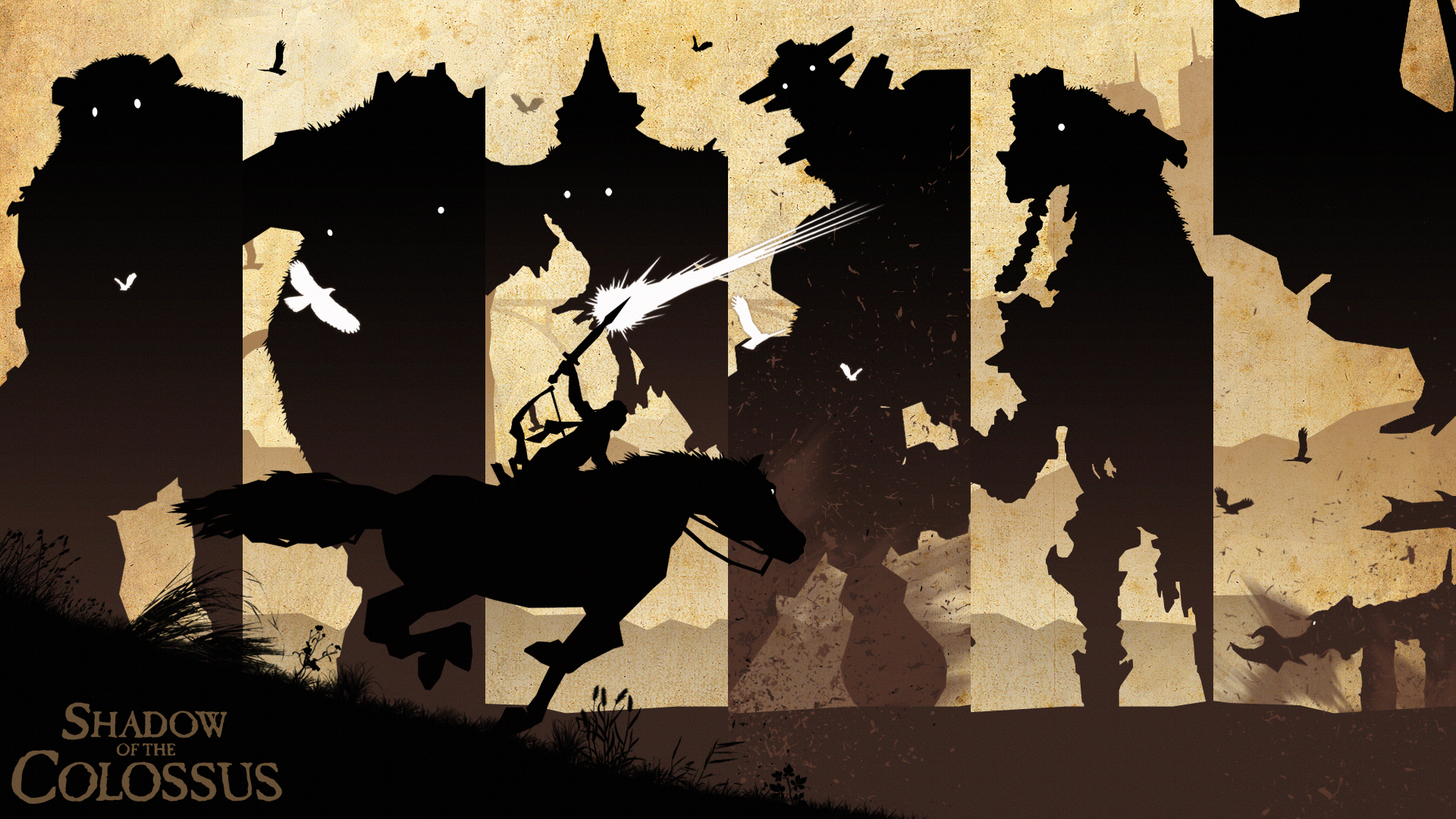 Shadow of the Colossus Wallpaper - WallpaperSafari