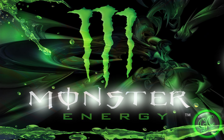 Custom Graphic Design Monster Energy Wallpaper 1440x900