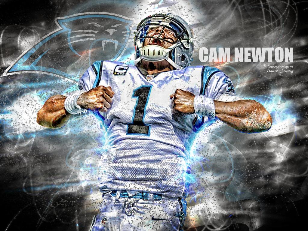 Cam Newton   Carolina Panthers QB by HPS74 by hps74deviantartcom 1024x770