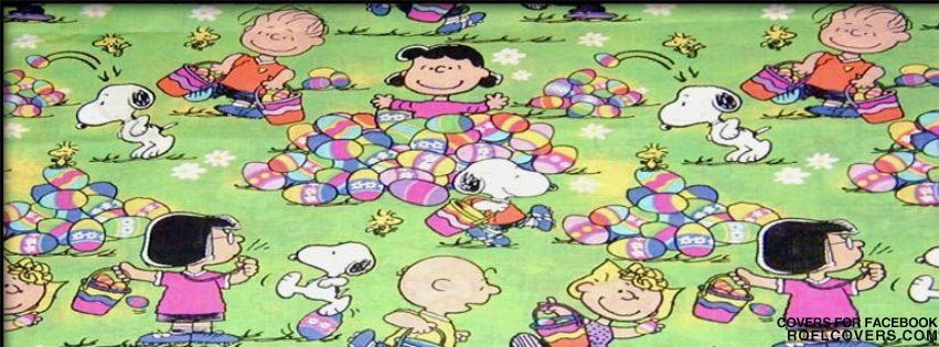 Snoopy Easter Wallpaper Easter peanuts snoopy 851x315