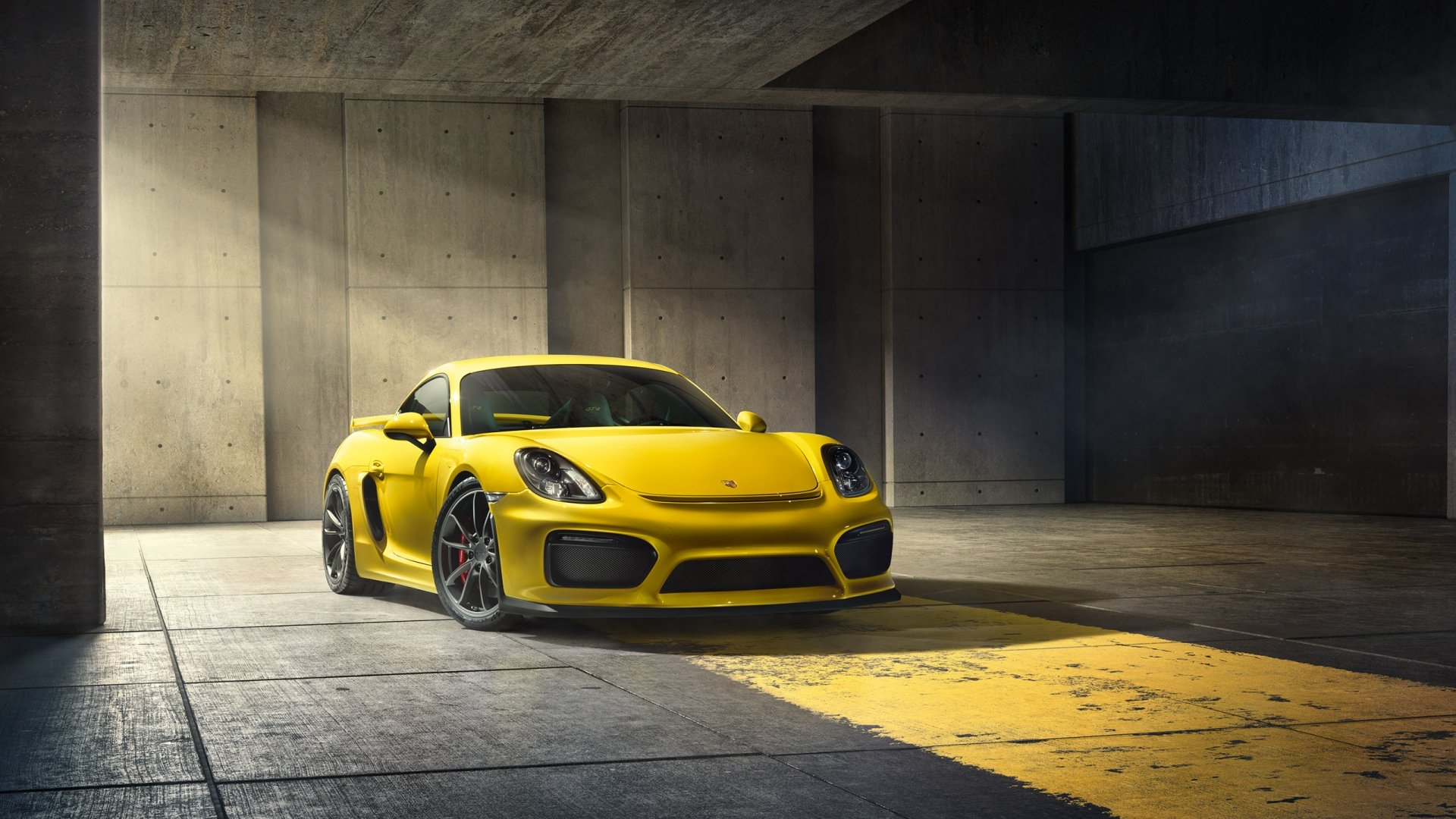 2016 Porsche Cayman GT4 Wallpaper