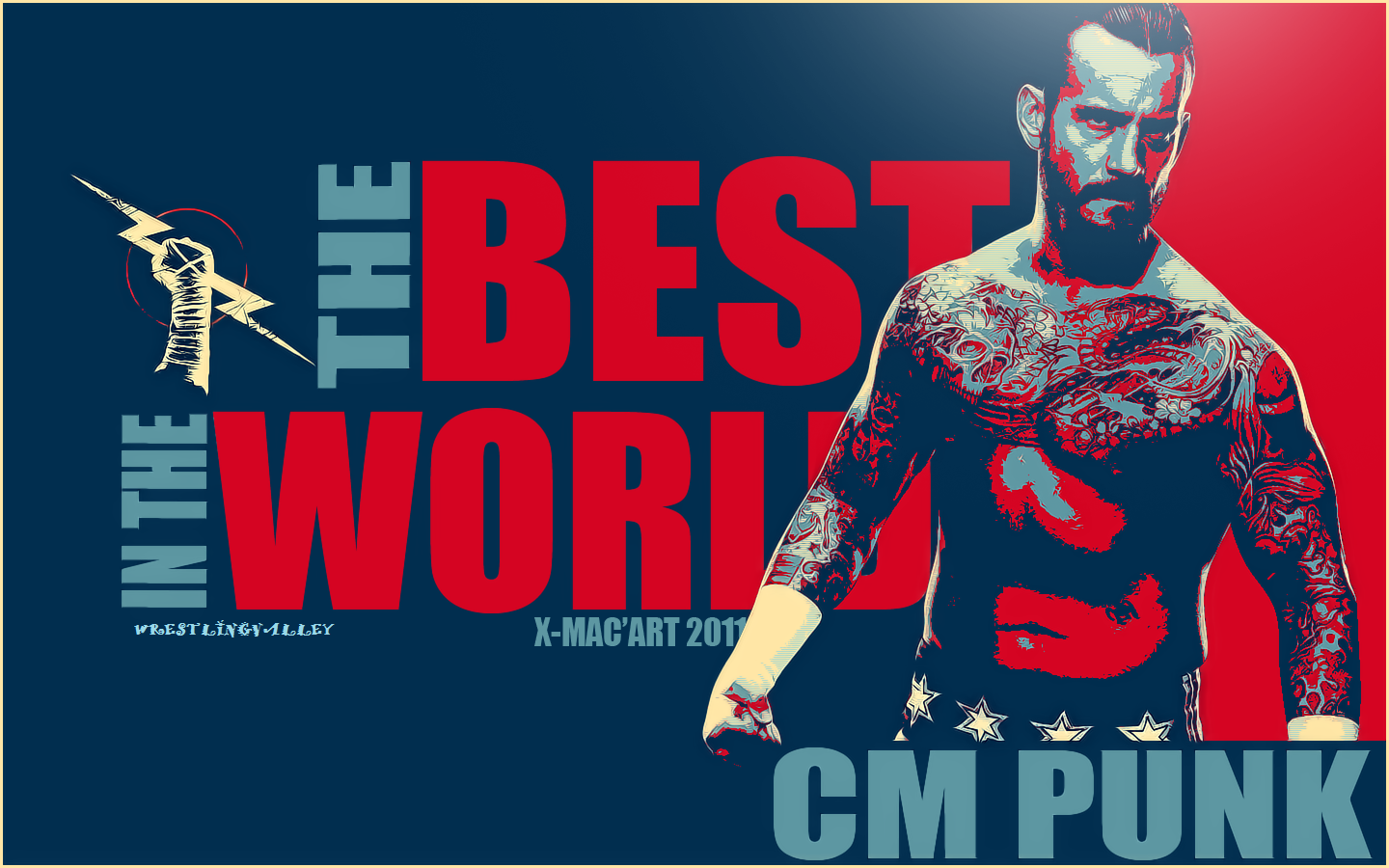 Wallpaper Of Cm Punk Wwe Fast Lane Wwe Superstars And Wwe wallpaper 1440x900