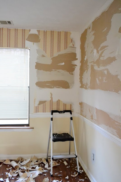 Painting Prep after Drywall Repair   The Ugly Duckling House 414x620