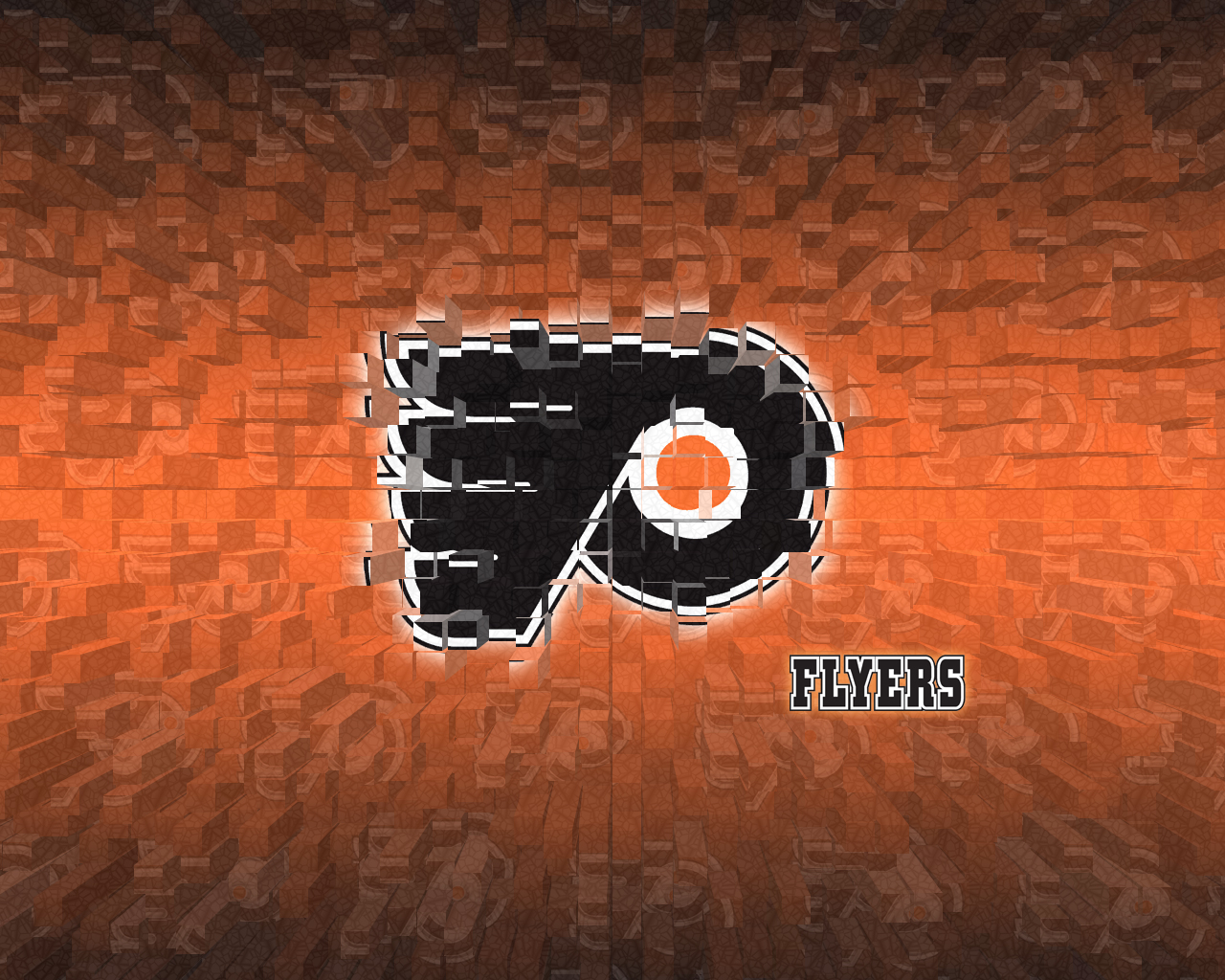 philadelphia flyers by AladineSalame 1280x1024