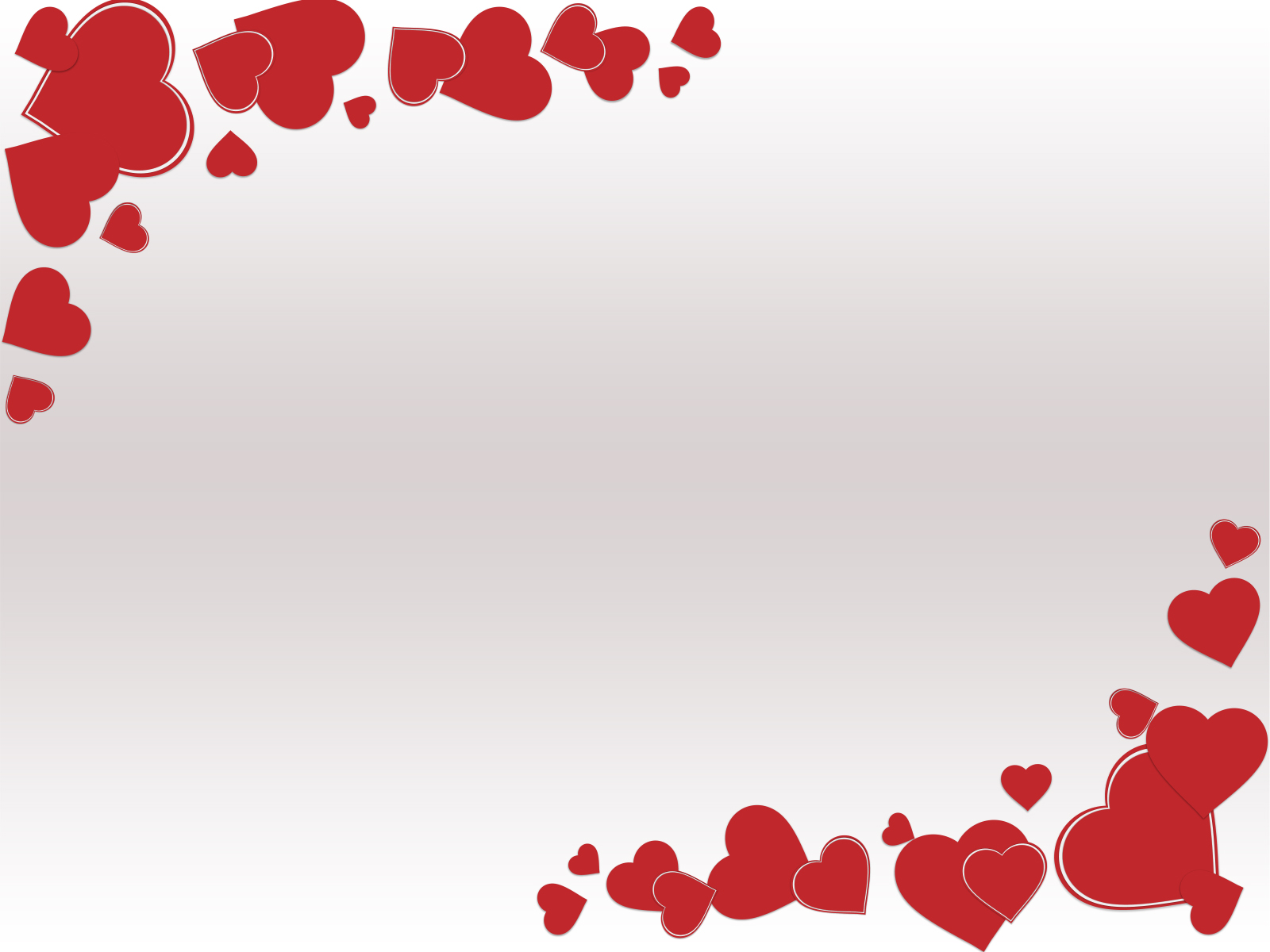 Grunge Valentine Day Backgrounds   Love Red White   PPT 1600x1200