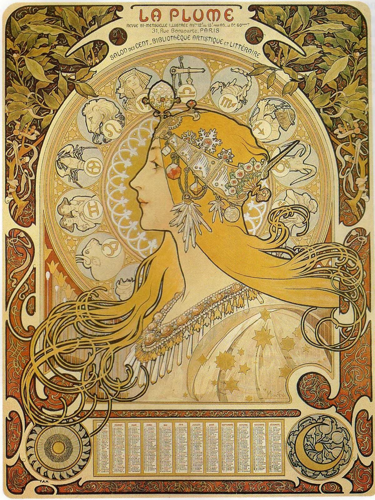 [48+] Art Nouveau Wallpaper Designs on WallpaperSafari