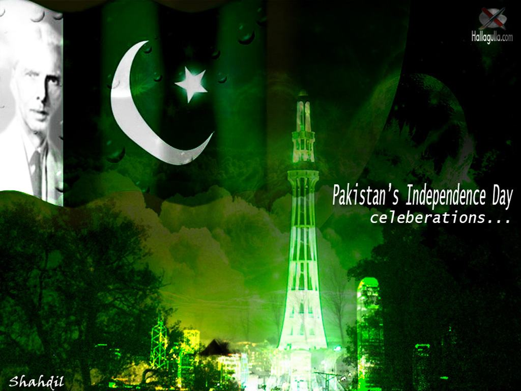 Pakistan Green Flag Independence Day Wallpapers wallpapers backgrounds 1024x768
