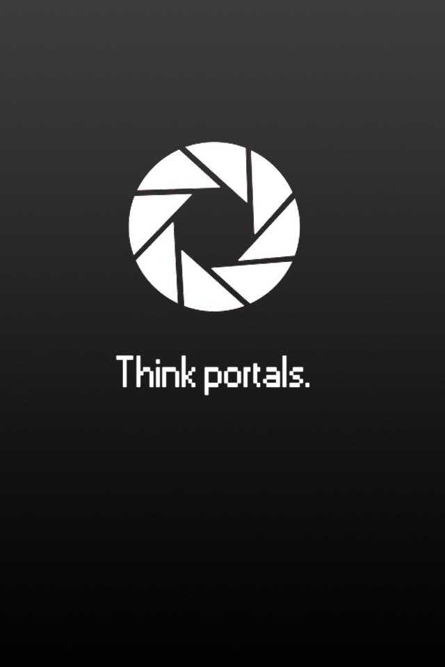 48 Portal Wallpaper Iphone On Wallpapersafari