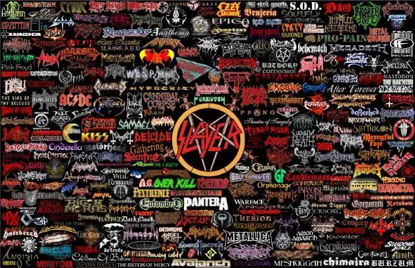 Metal Rock Bands Collage Graphics Code Metal Rock Bands Collage 600x388