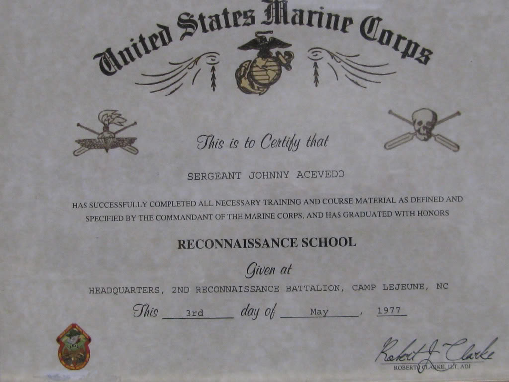 us marine corps wall of fame first enlisted recon school 1024x768