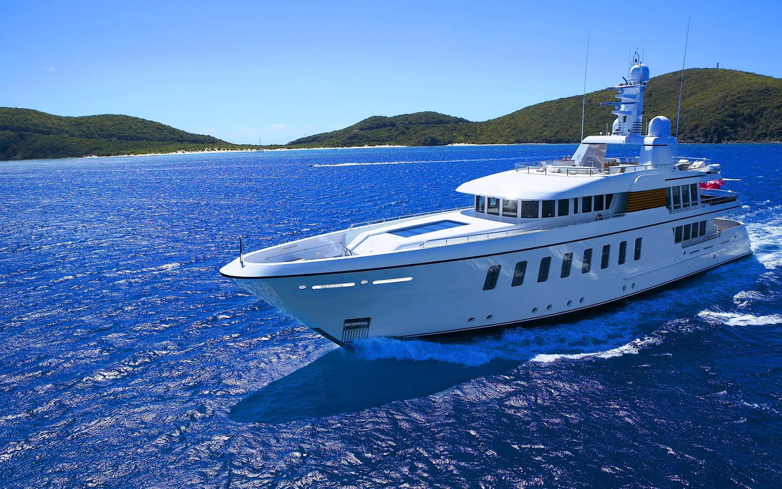 Yacht Pictures Luxury Private Yachts Mega Yacht Full HD 1600x1000