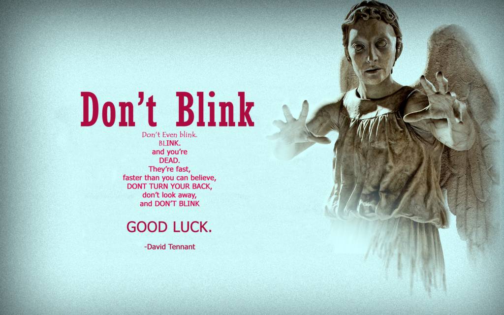 Doctor Who Weeping Angels Wallpaper HD Dont Blink by Doctor1111 on 1024x640