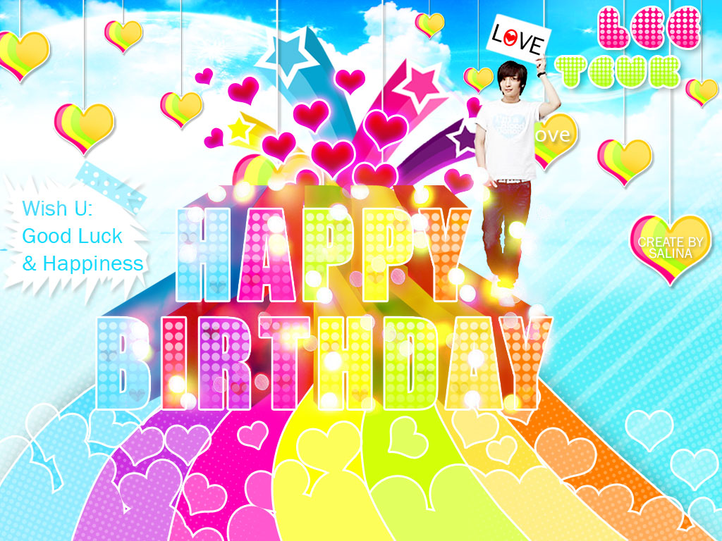 Happy Birthday Wallpaper Desktop Wallpaper Pc Wallpaper Photo 1024x768