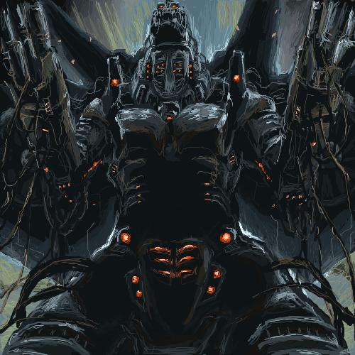Mecha Godzilla by TAKA F 500x500