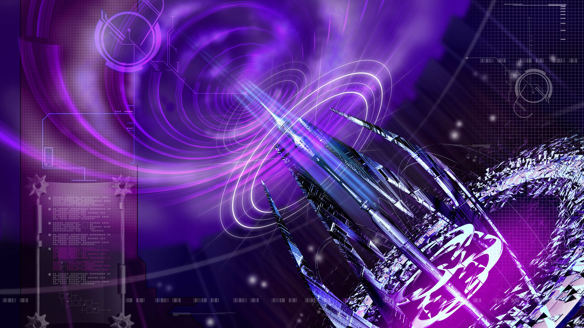 Cool Hd Wallpapers Backgrounds: Cool Purple Wallpapers HD