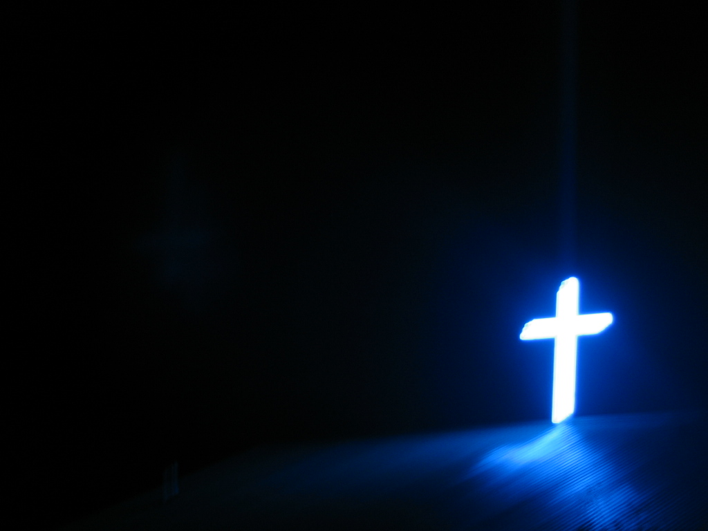 Neon cross Wallpaper   Christian Wallpapers and Backgrounds 1024x768