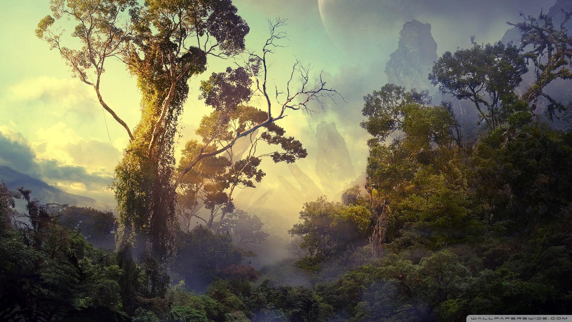 Download Jungle Fantasy Wallpaper 1920x1080 Wallpoper 424621 1920x1080