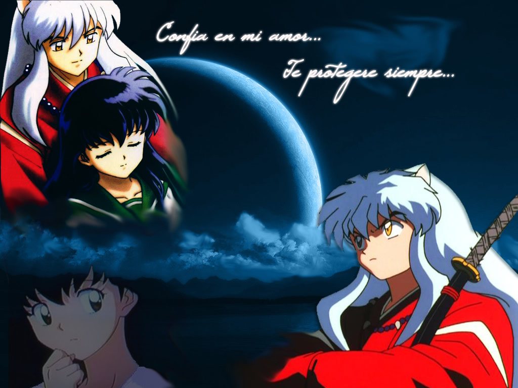 Free Download Kagome Inuyasha Wallpaper Background Theme