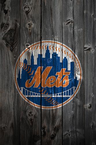 new york mets backgrounds New York Mets Wood iPhone 4 333x500