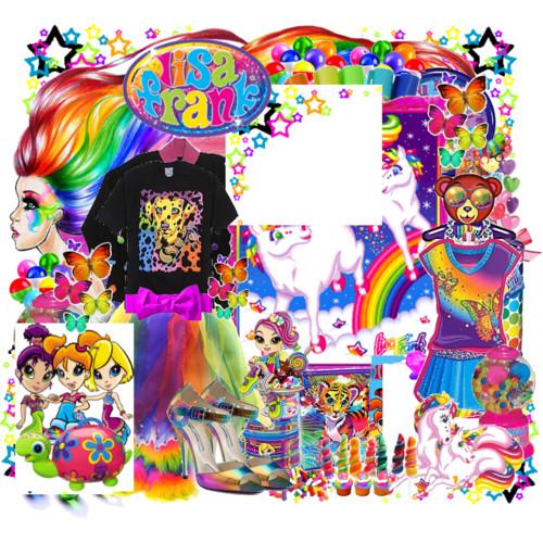Lisa Frank Background 500x500