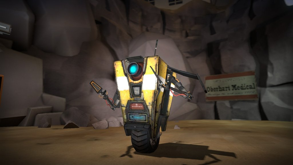 Borderlands 2 Claptrap Wallpaper Like borderlands 2 psycho 1024x577