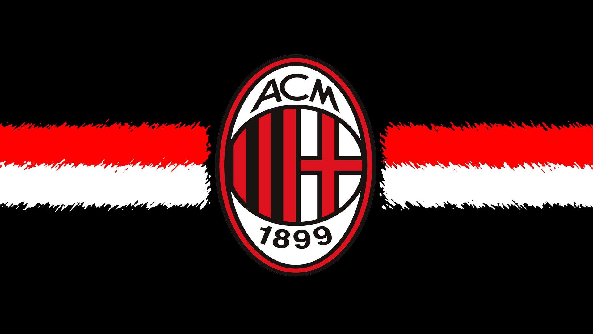 AC Milan Background Football Logo Wallpaper 6748 Wallpaper 1920x1080