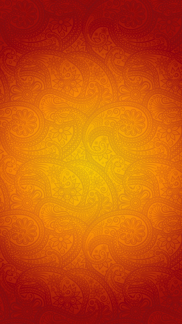 IPhone 5 Wallpaper Orange Pattern 06 IPhone 5 Wallpapers IPhone SE 640x1136