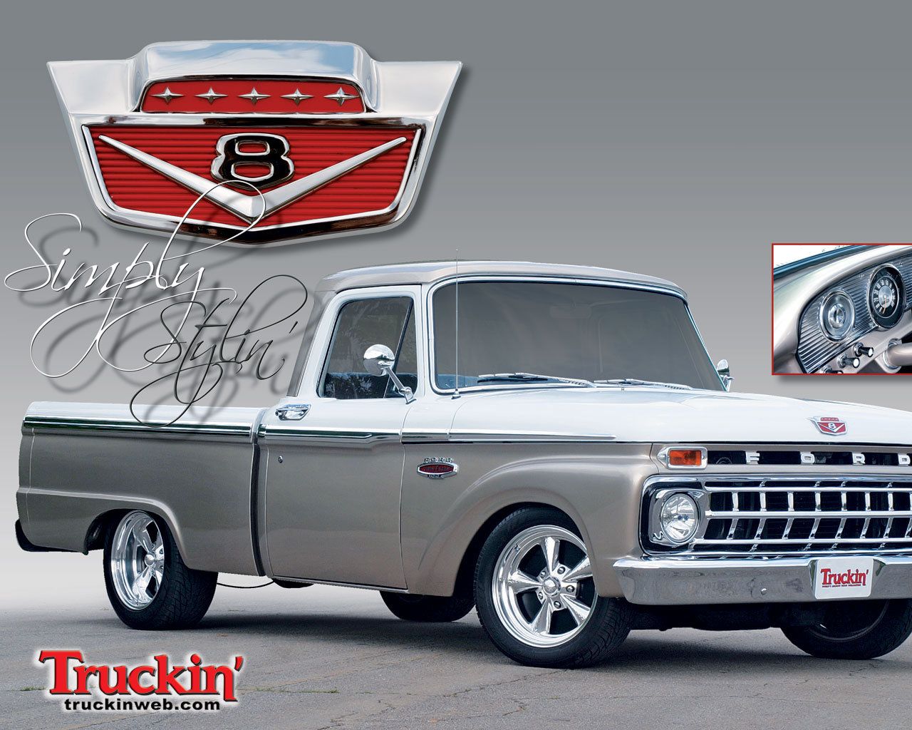 1965 Ford F100 Wallpaper and Background Image 1280x1024 ID 1280x1024