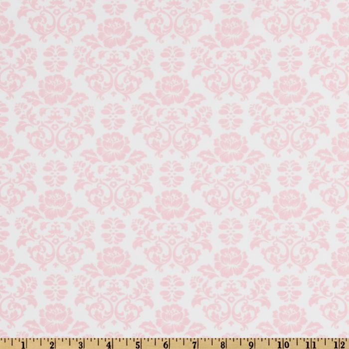 Pink And White Damask Background Damask baby pinkwhite 700x700
