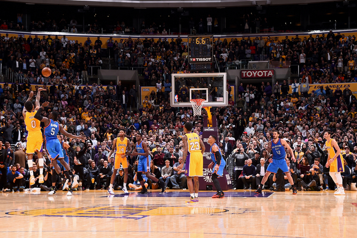 Nick Young heroi i nats pr Lakers NBA 720x480