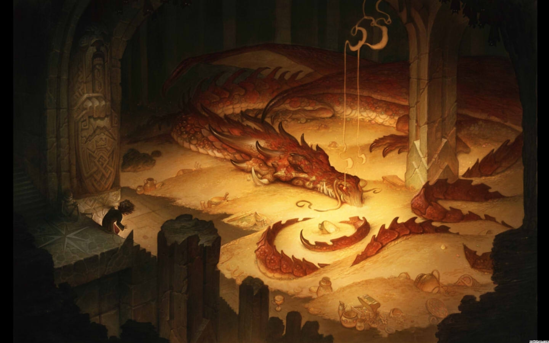 Smaug Wallpaper HD 1920x1200