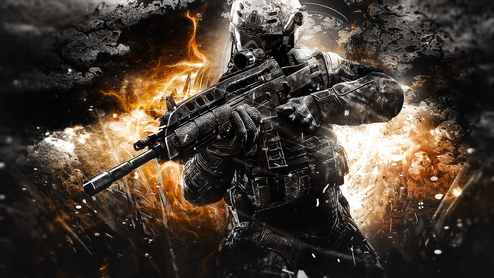 Call Of Duty 2 Zombies WallpaperCOD Black Ops Wallpapers HD 1600x900