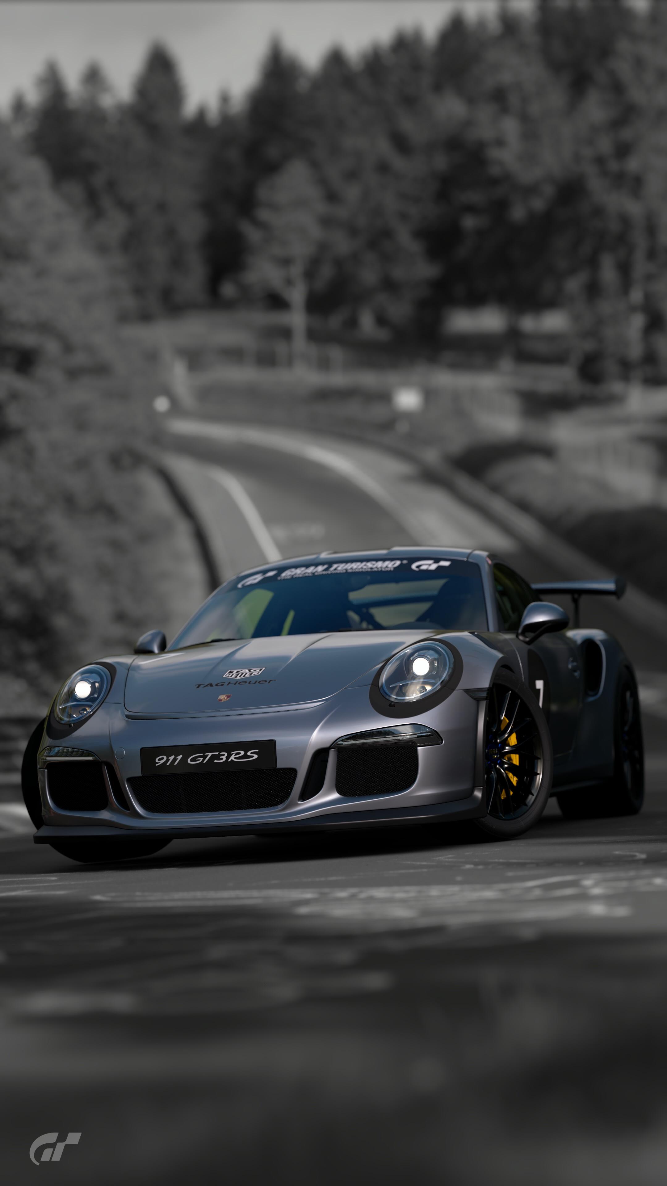 Porsche 911 GT3 Rs wallpaper GT Sport 2160x3840