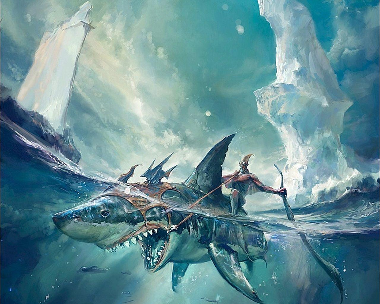 Cool Shark Wallpapers   Top Cool Shark Backgrounds 1280x1024
