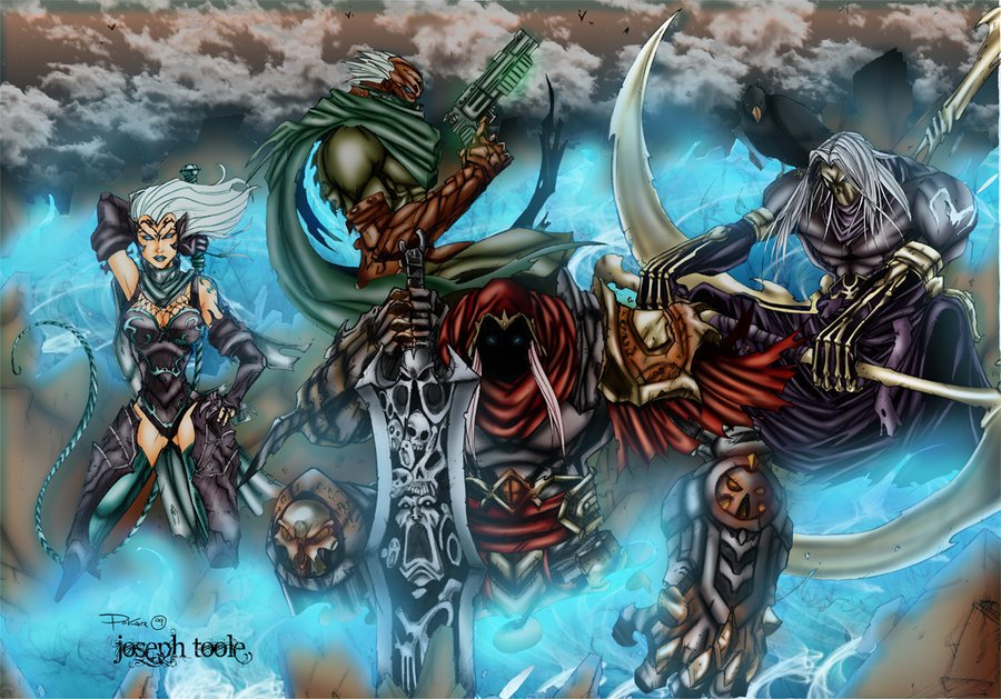 Four Horsemen by TVC DesignsDarksiders 4 Horsemen Wallpaper 900x629
