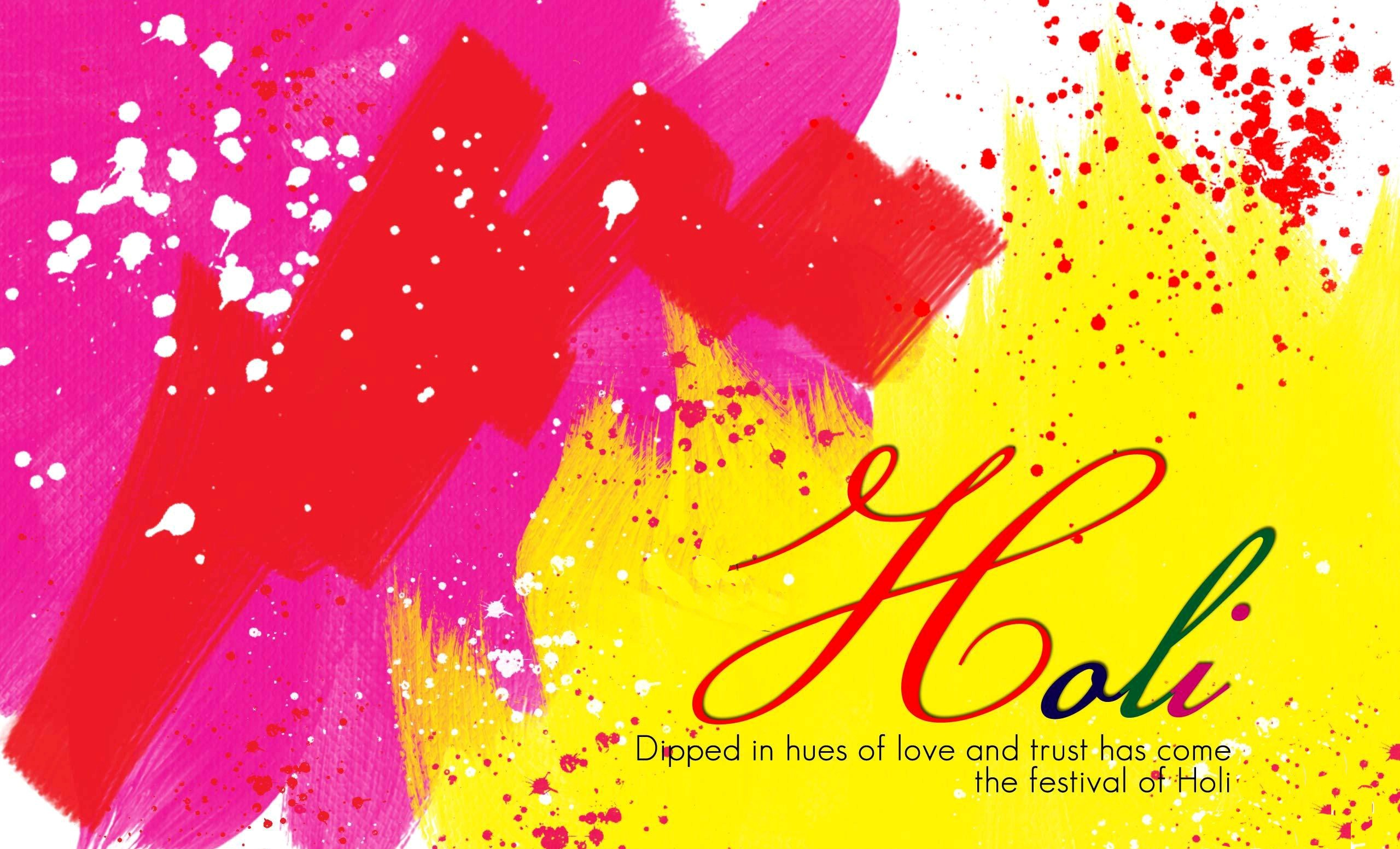 Holi Greetings Wallpapers HD Wallpapers 2560x1553
