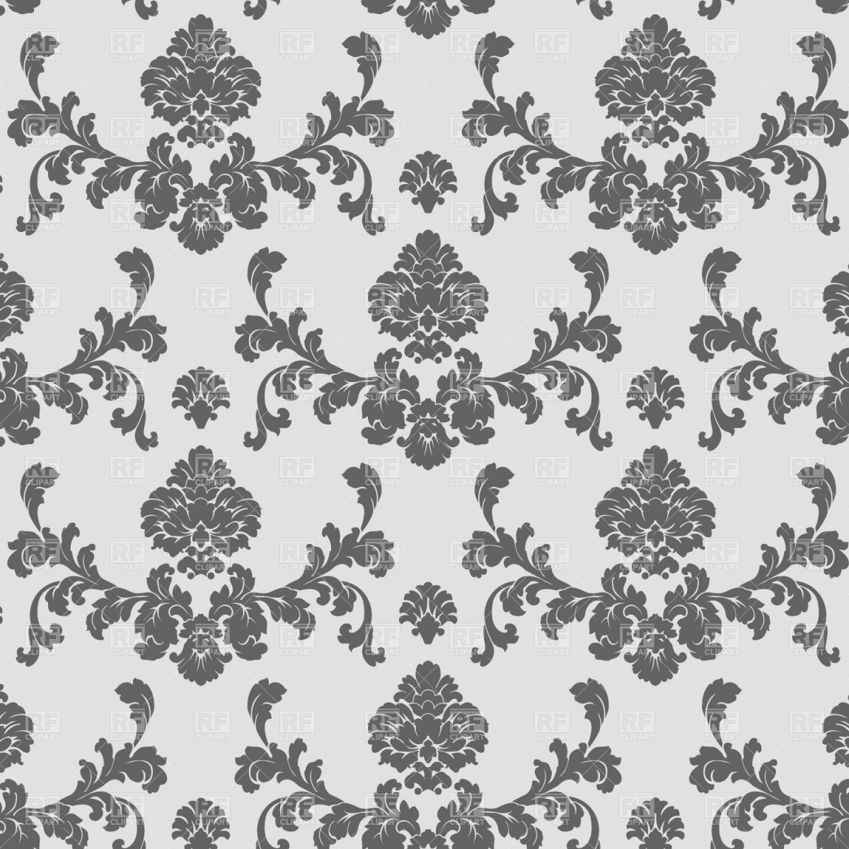 Classic seamless wallpaper pattern 1204 download royalty free vector 1200x1200
