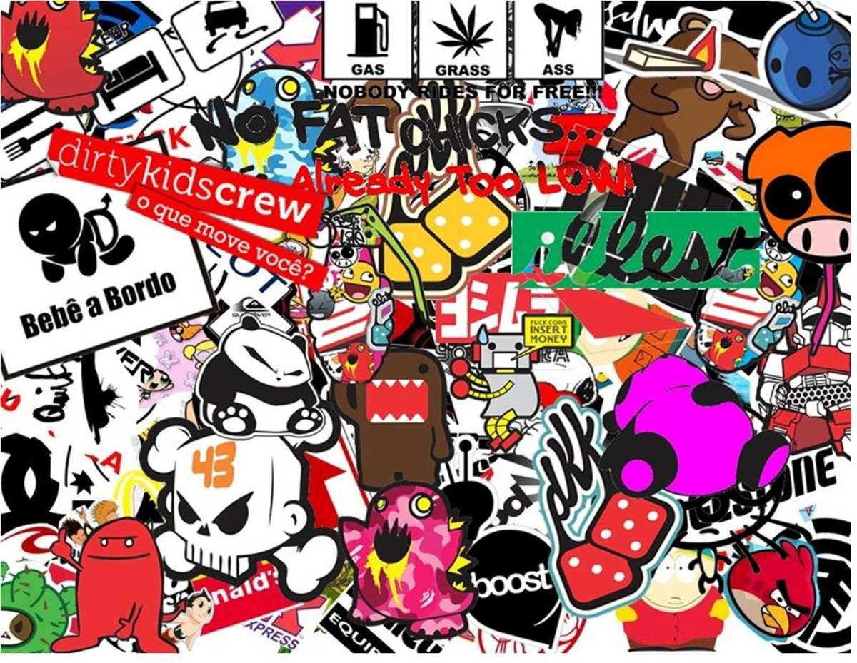 sticker bomb hd wallpaper wallpapersafari