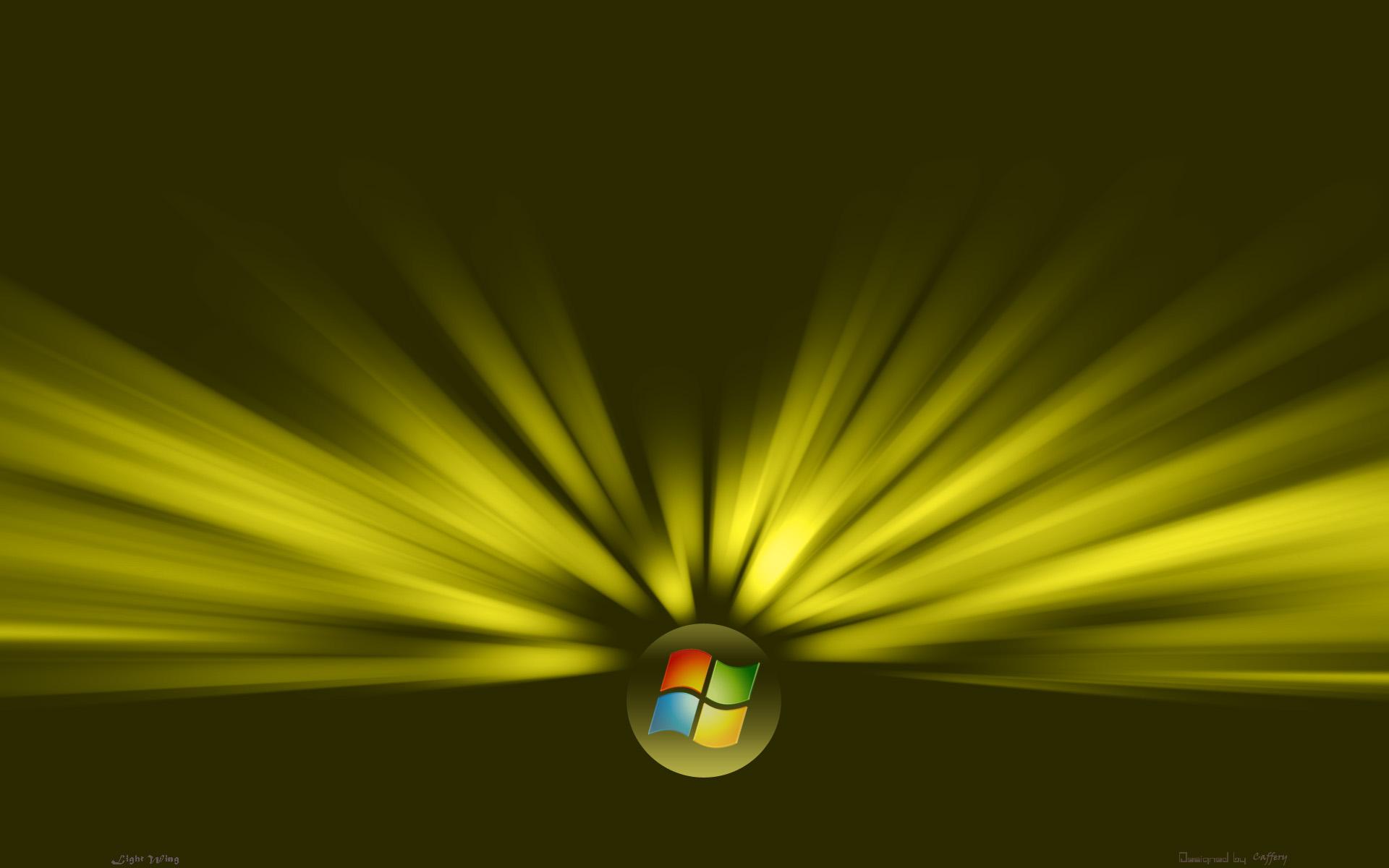 wallpaper yellow light windows vista 1920x1200 1920x1200