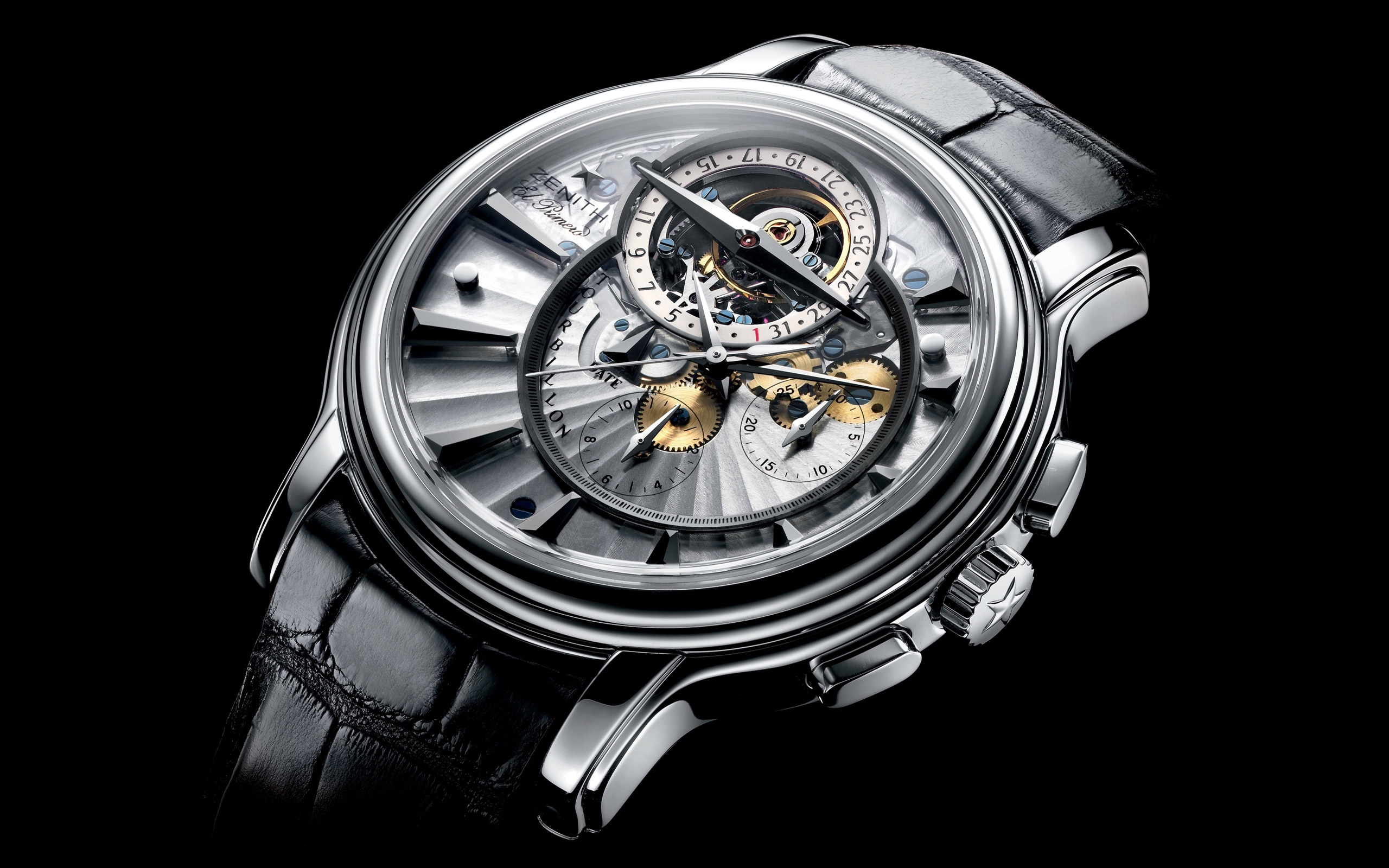 Zenith Watch HD Wallpaper Background Image 2560x1600 ID 2560x1600