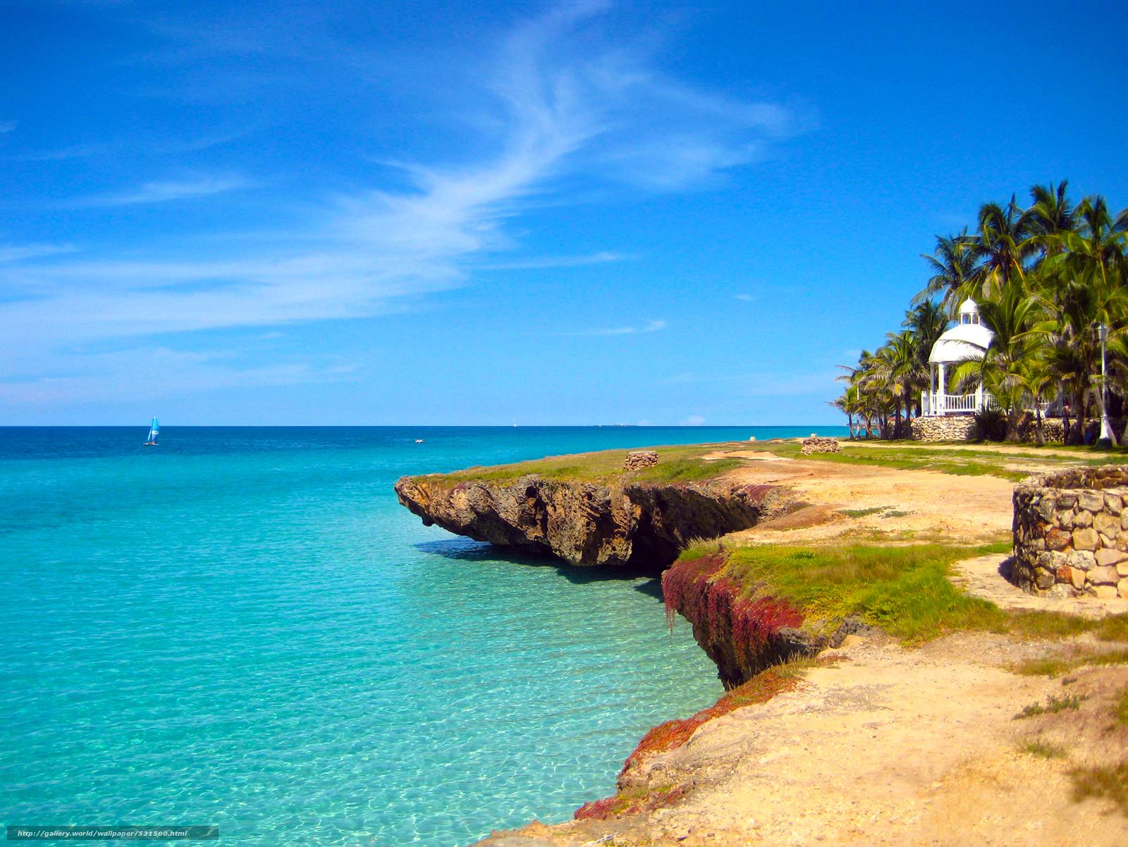Caribbean Beach Desktop Wallpaper Images