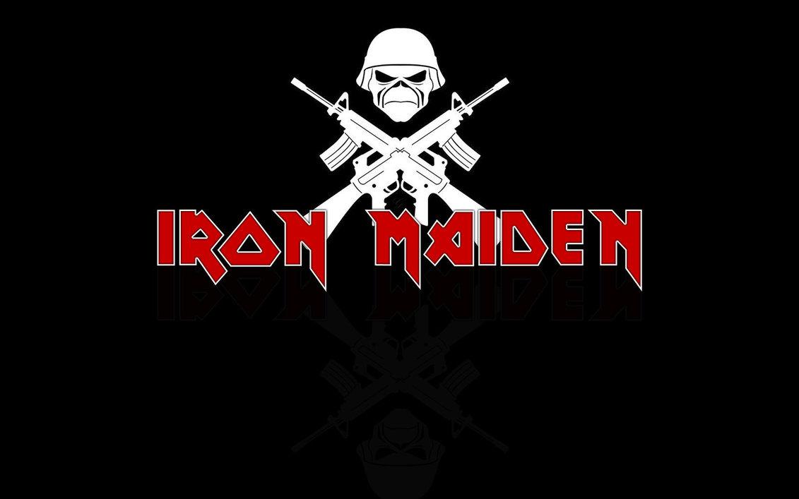 Iron Maiden logo wallpaper by GilfordArt 1131x707