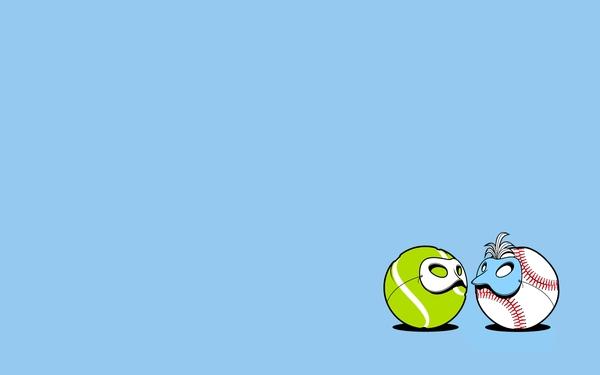 Softball Wallpapers Desktop Fun art softball 1440x900 600x375