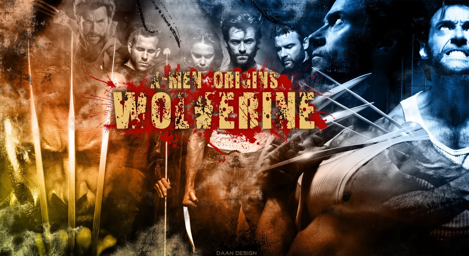 wallpapers hd for mac X Men The Wolverine Wallpaper 1600x873
