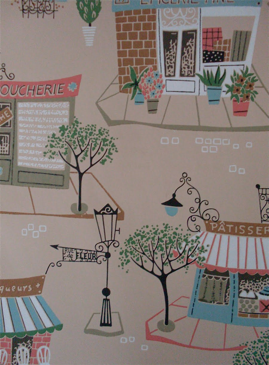 1950s Wallpaper Stores and Farms 900x1222