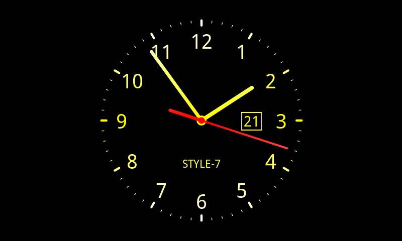 Free Download Analog Clock Live Wallpaper 7 Android Apps On