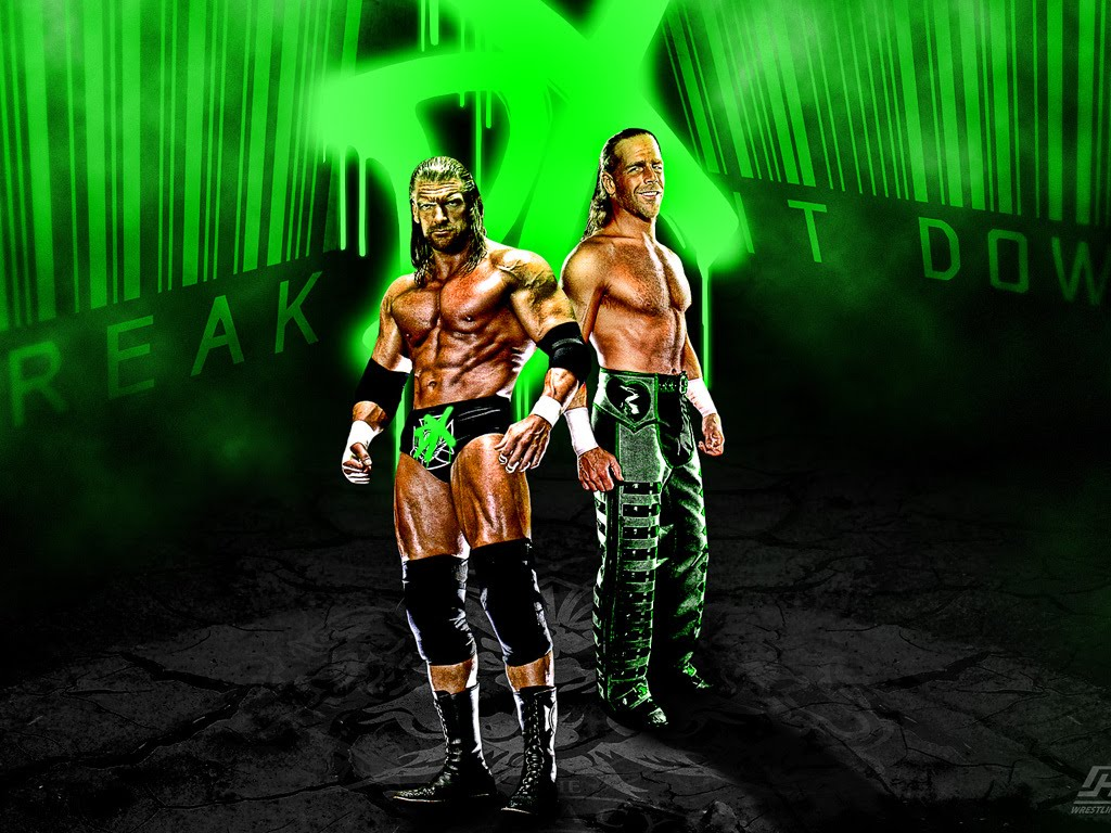 WWE DX HD Wallpapers Wrestling And Wrestlers 1024x768