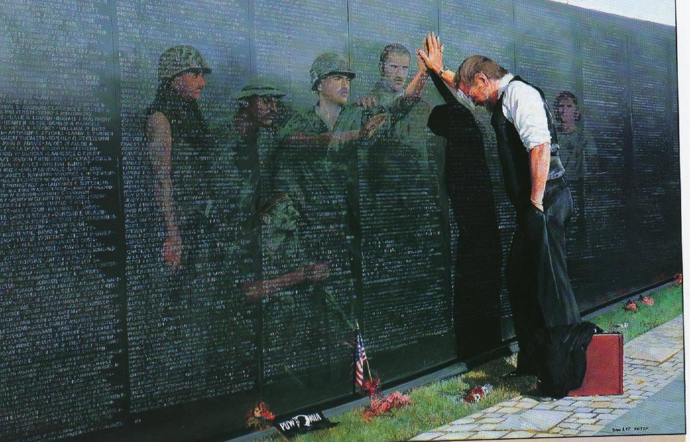 Vietnam War Monument   World History Wallpaper 1403x898