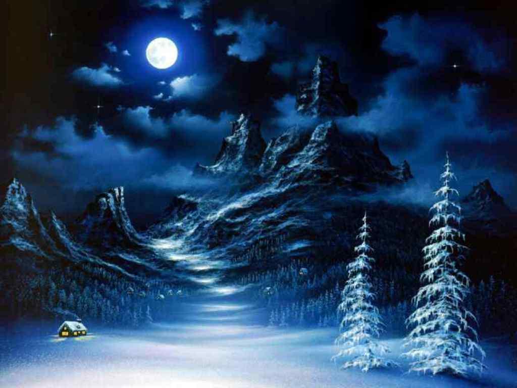 winter scenes desktop wallpaper which is under the winter wallpapers 1024x768
