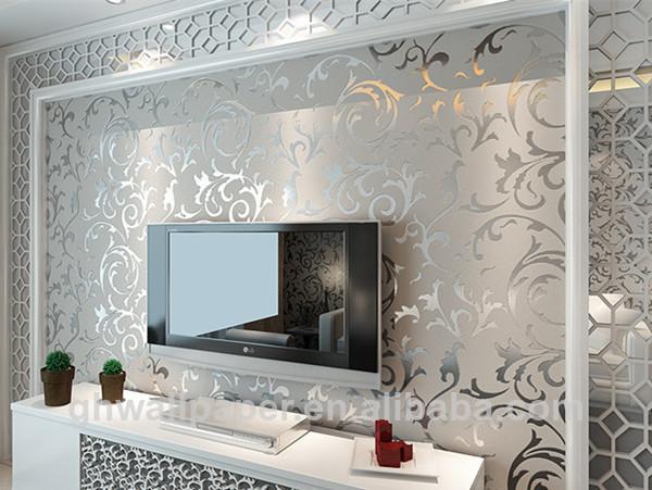 Metallic Wallpaper For Home Wallpapersafari